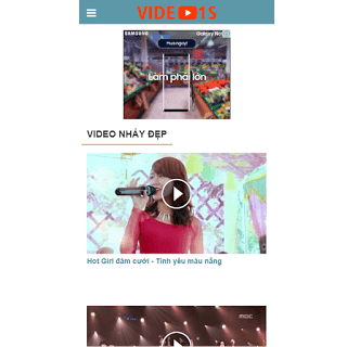 theme blog thiết kế cho video
