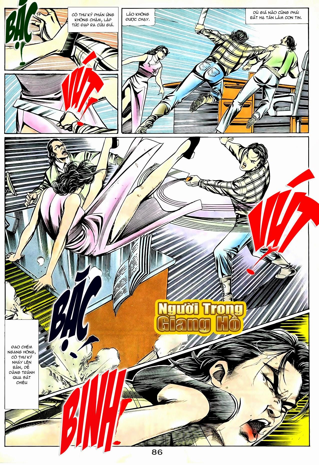 Người Trong Giang Hồ chapter 90: giang hồ hiểm trang 22