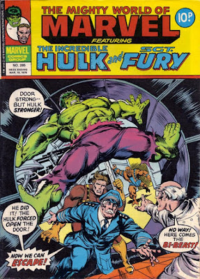 Mighty World of Marvel #285, Hulk vs Bi-Beast