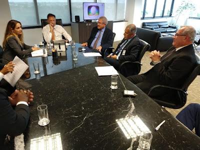 Em Brasília, prefeito Joaquim Neto se reúne com a ANTT para tratar sobre a Via Expressa