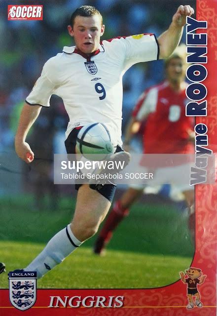 WAYNE ROONEY ENGLAND 2004
