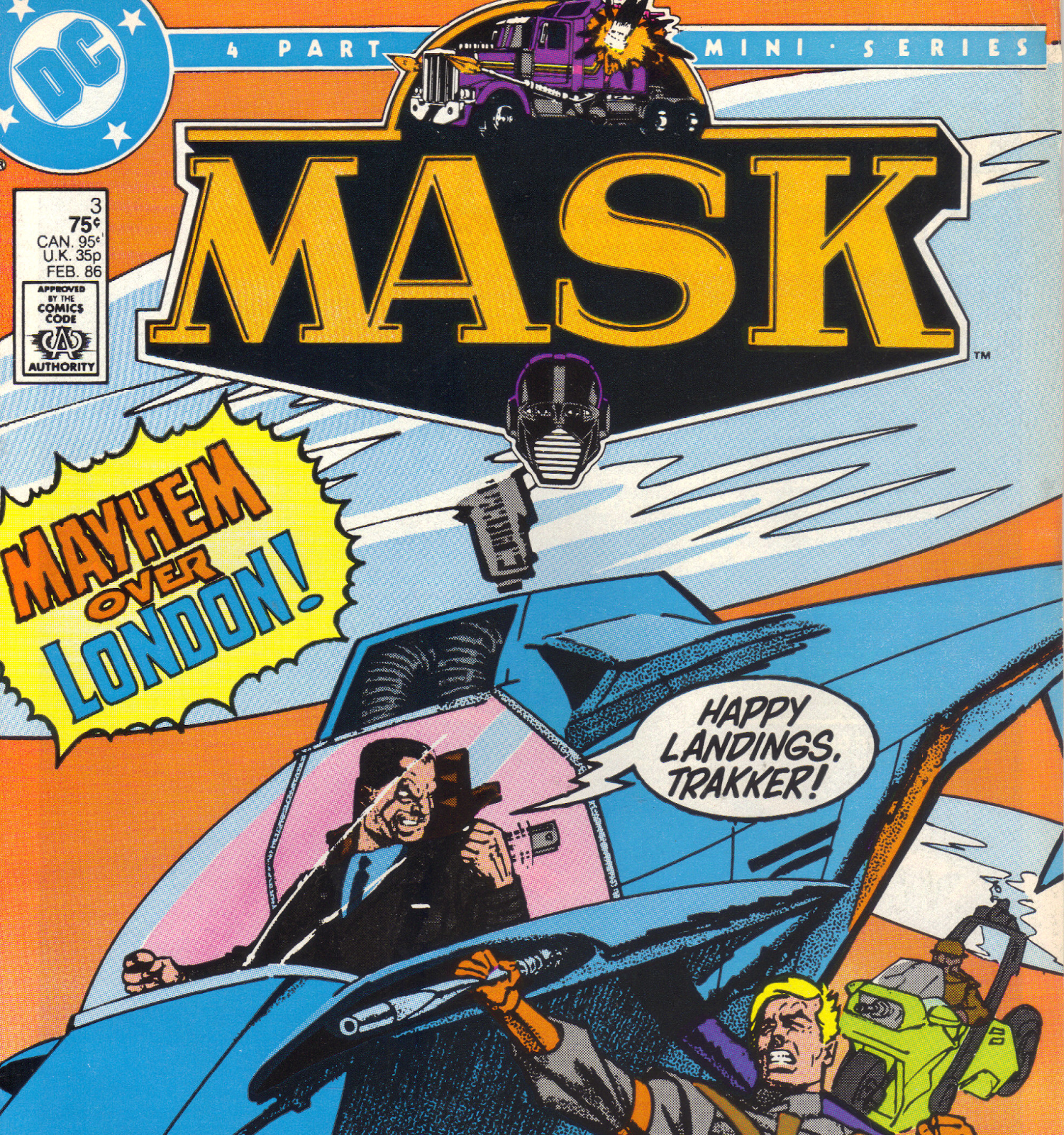 M.A.S.K. DC Comics Vol 1 Issue 3 - Agents of M.A.S.K.