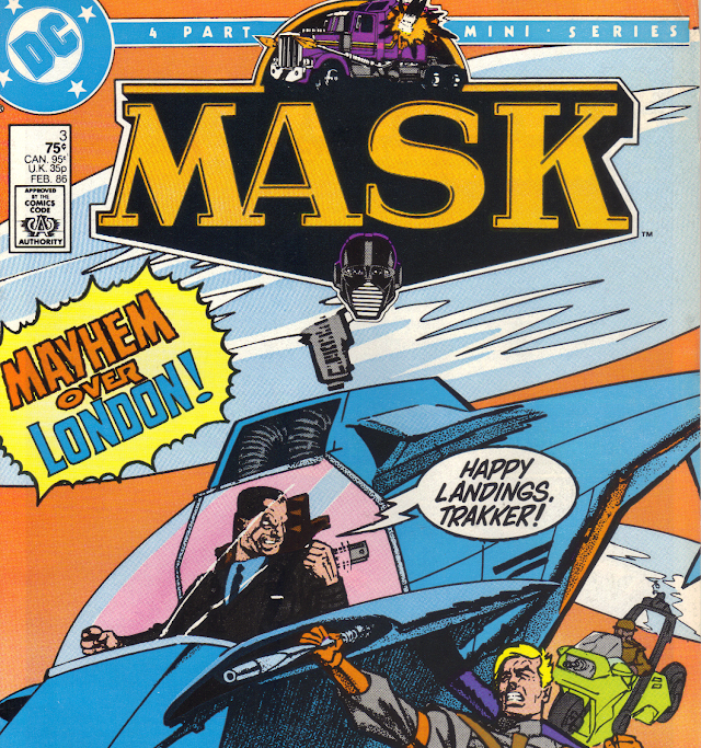 M.A.S.K. DC Comics Vol 1 Issue 3
