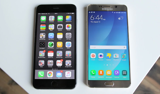 iPhone 6s «broke» Samsung Galaxy Note 5 in tests for performance