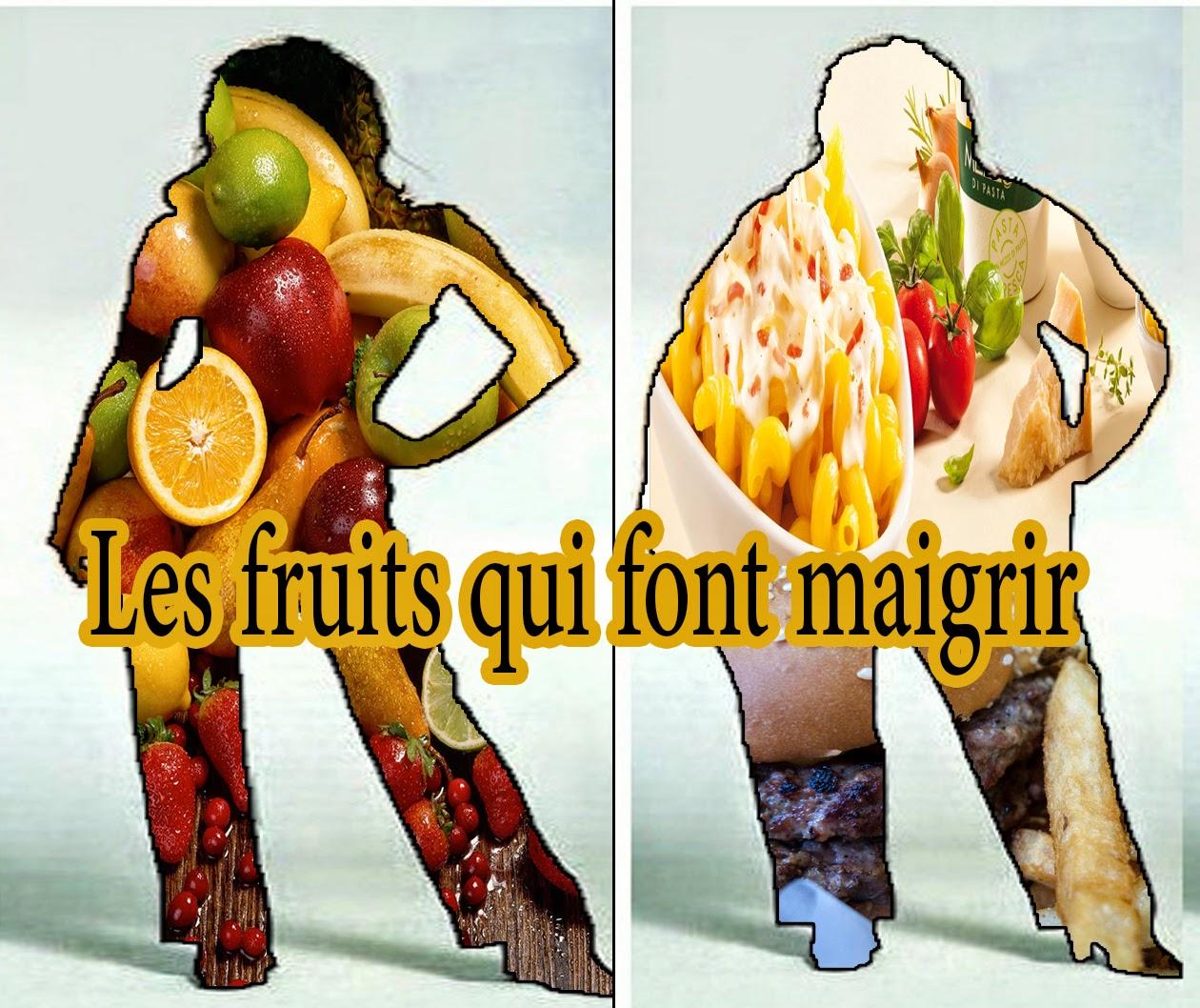 Les fruits qui font maigrir ~ Sports et santé