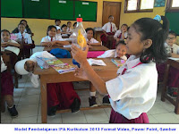 Model Pembelajaran IPA Kurikulum 2013 Format Video, Power Point, Gambar