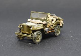 Tamiya Jeep 1/48.