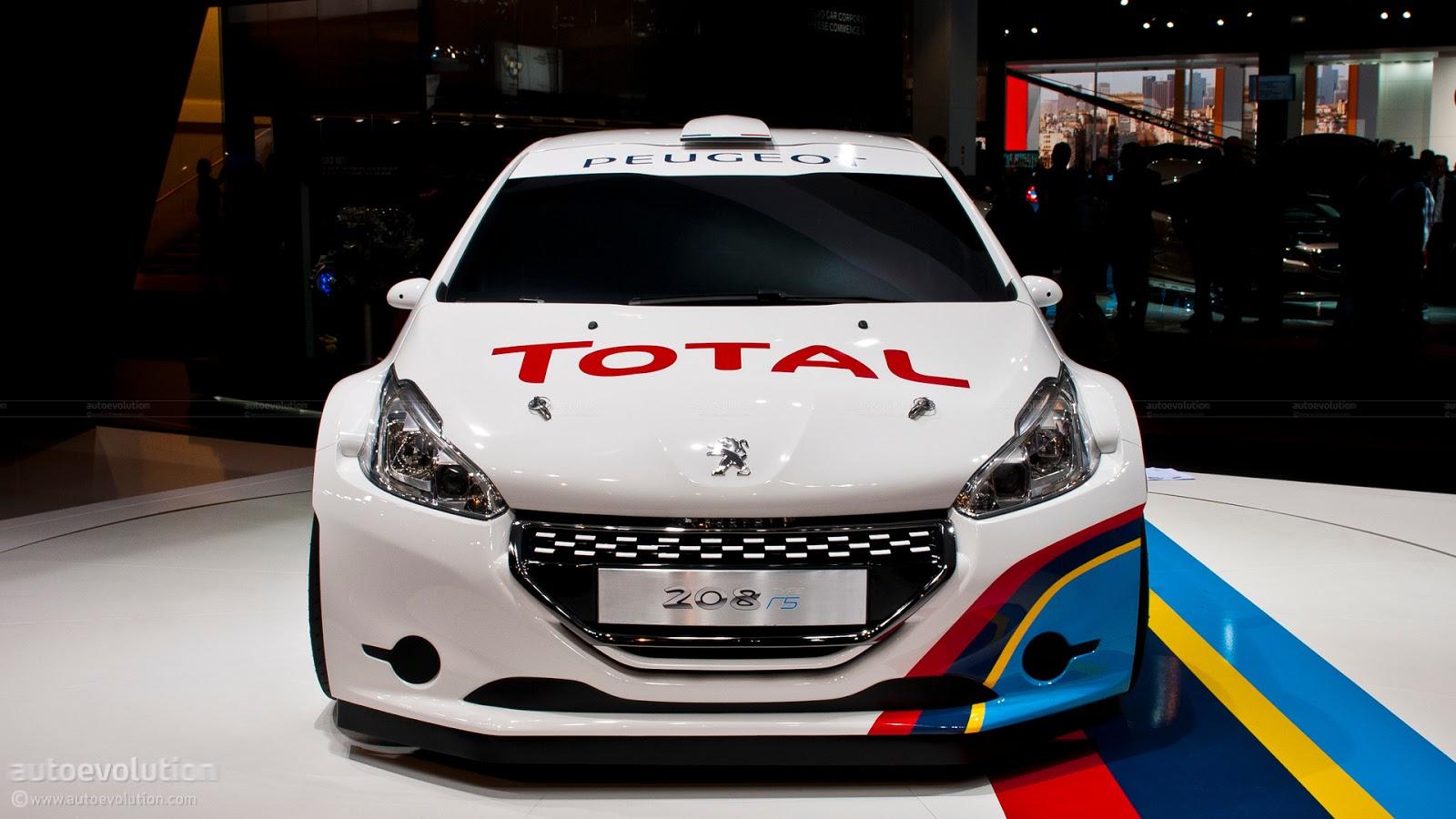 All Car Logos: 2013 Peugeot 208 R5 Rally Car