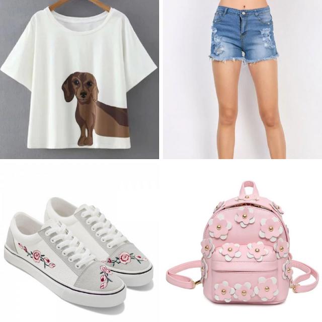 Wishlist de Dezembro da Loja Rosegal, lojas internacionais, fashion, shorts, blusas, bolsas, moda