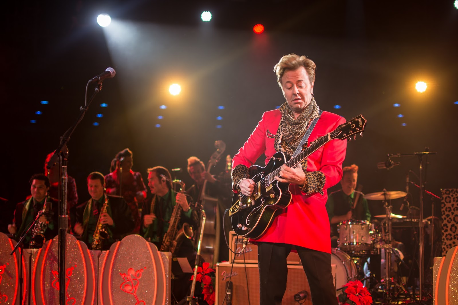 The Brian Setzer Orchestra - Tickets - Celebrity Theatre ...