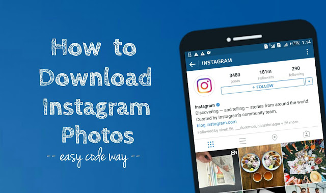 How to download Instagram files
