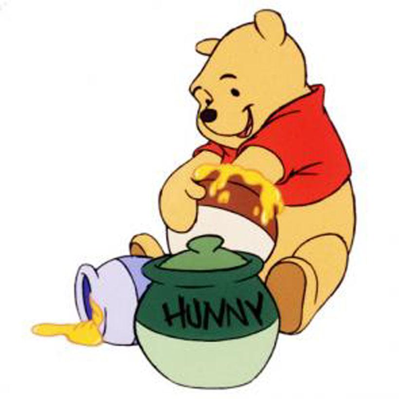 Winnie Pooh Mit Honigtopf