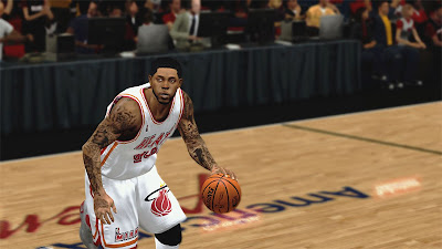 NBA 2K13 Udonis Haslem Playoffs Looks Realistic Face