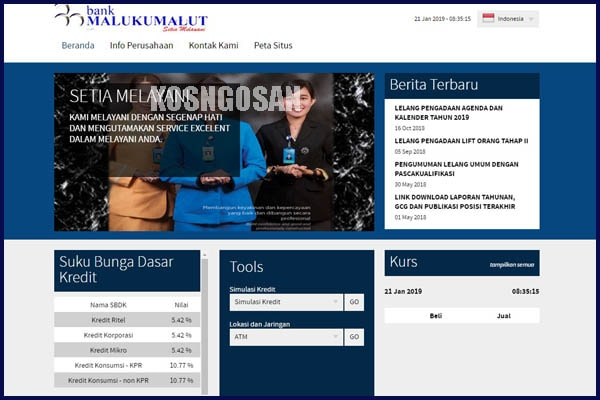 bank maluku malut