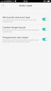 Cara Membuat mode satu tangan Oppo F5