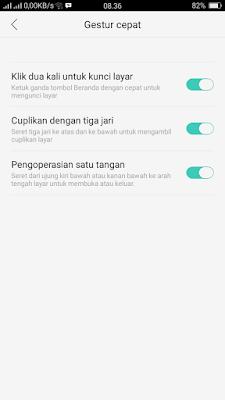 Cara Membuat mode satu tangan Oppo A71