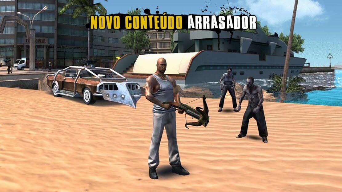 Gangstar Rio Cidade dos Santos v 1.2.1g apk mod DINHEIRO INFINITO