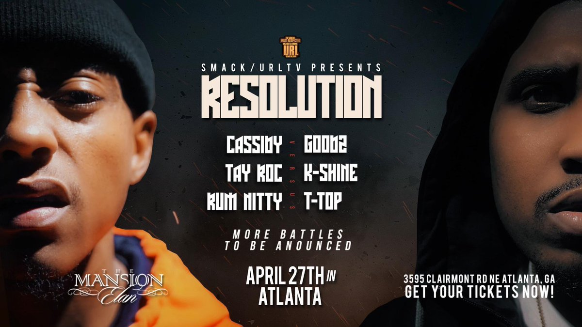URL Announces Resolution Event In Atlanta ~ Hip Hop Slime