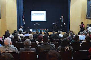 Elias Martins, secretário de Turismo, apresenta o projeto 'Turismo em Ação', projeto que engloba diversas iniciativas para fomentar o setor na cidade