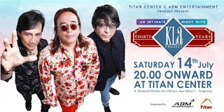 cari tiket event an intimate night with kla project