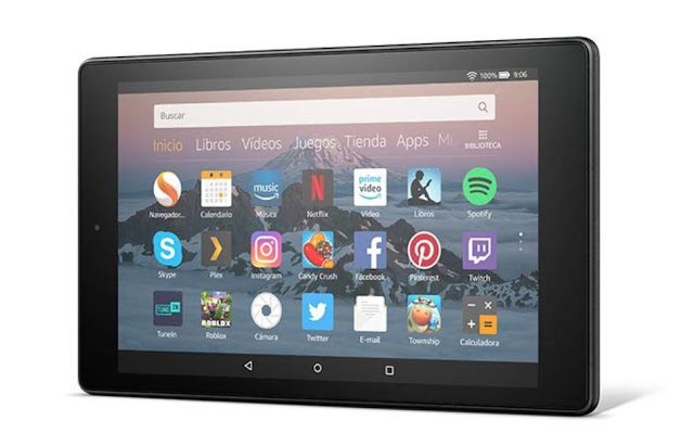 Nuevas tablet AMAZON FIRE HD 8
