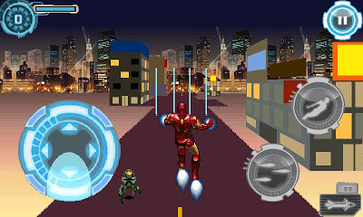 Iron Man 2 Revolution 240x400 java Game free Download for