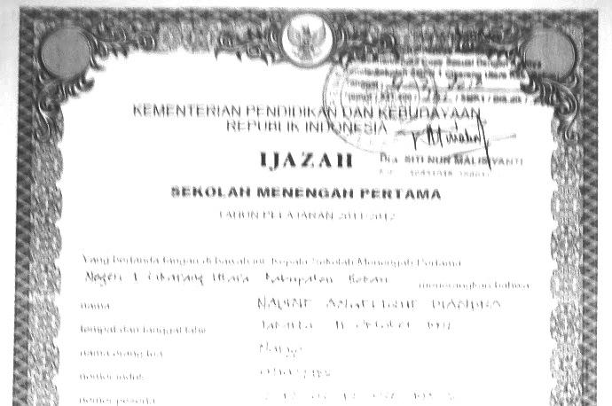Peraturan Pengesahan Fotocopy Ijazah dan Penerbitan Surat Keterangan Pengganti Ijazah