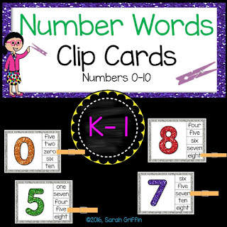 https://www.teacherspayteachers.com/Product/Math-Clip-Cards-Number-Words-2728525