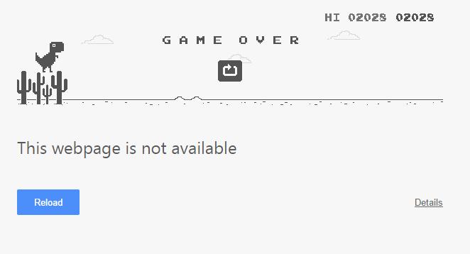 Ilmu Aiti: Permainan Dinosaurus Offline di Google Chrome