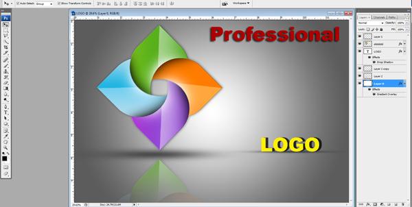 Create Professional Logo In Photoshop