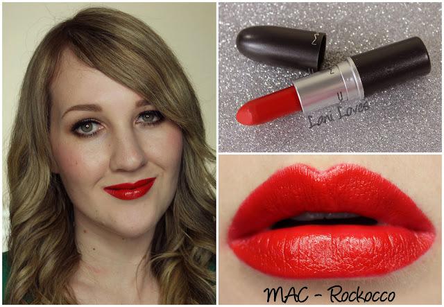 MAC Rockocco lipstick swatch