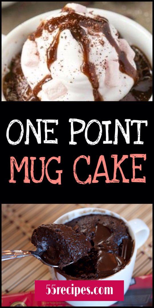 ONE POINT MUG CAKE