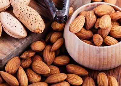 cara mengolah kacang almond picture