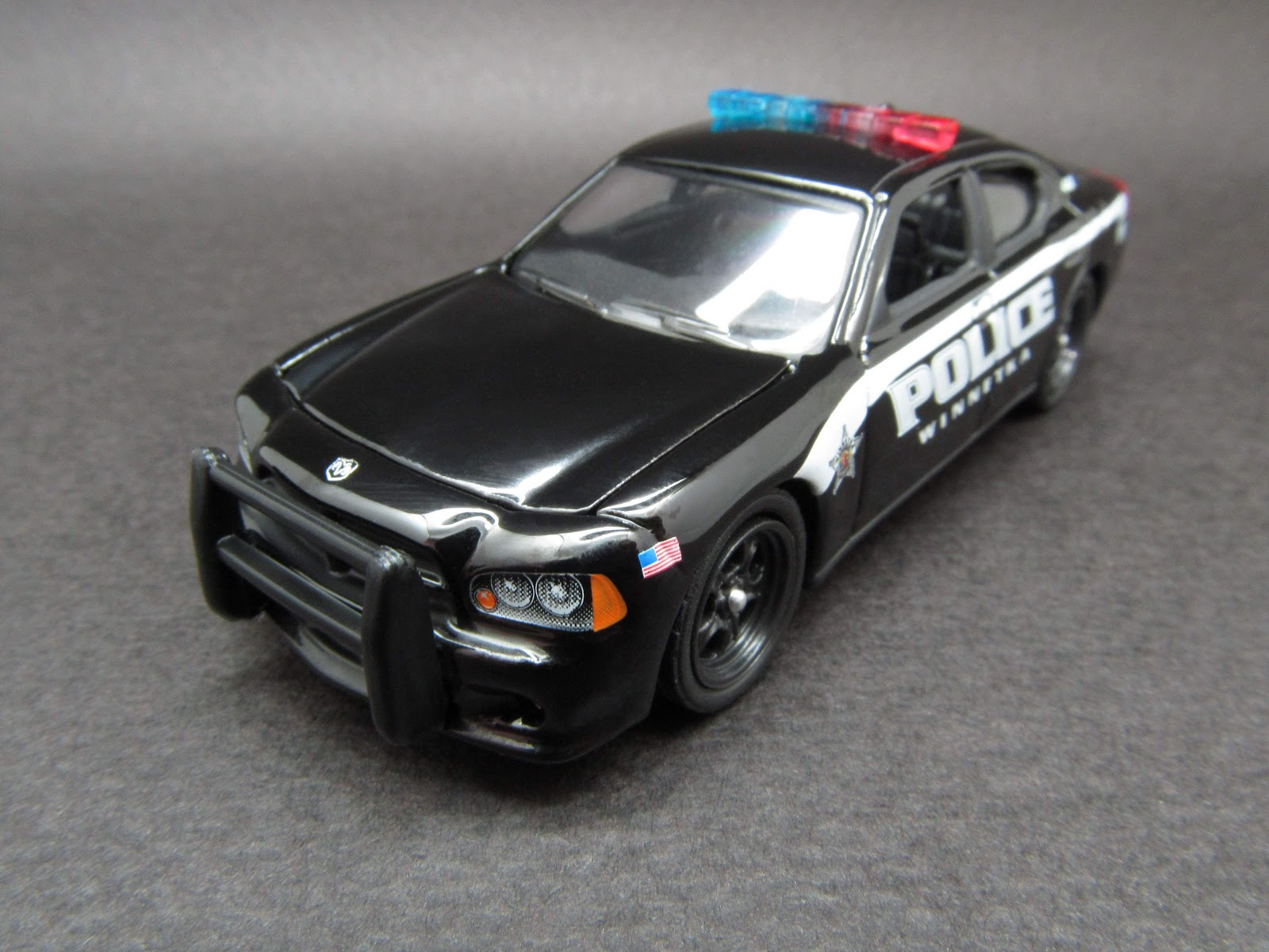 Diecast Hobbist 2010 Dodge Charger Winnetka IL Police
