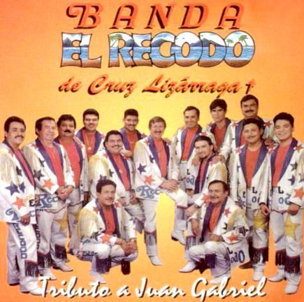 Foto de la banda El Recodo en portada de disco