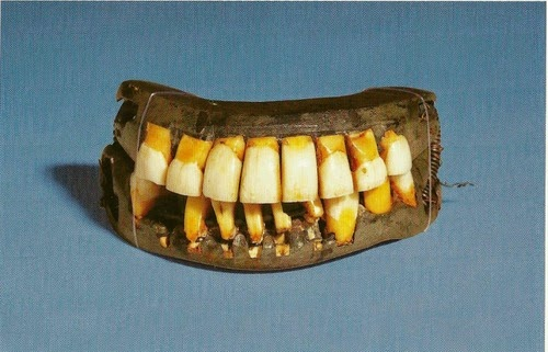 George Washington's teeth. Just another historical misconception.