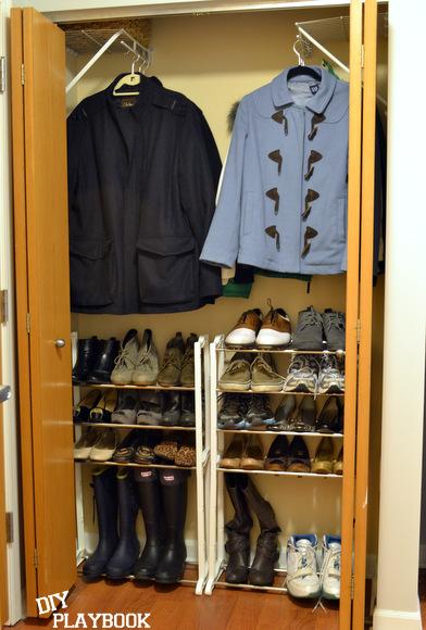 Front hall coat closet
