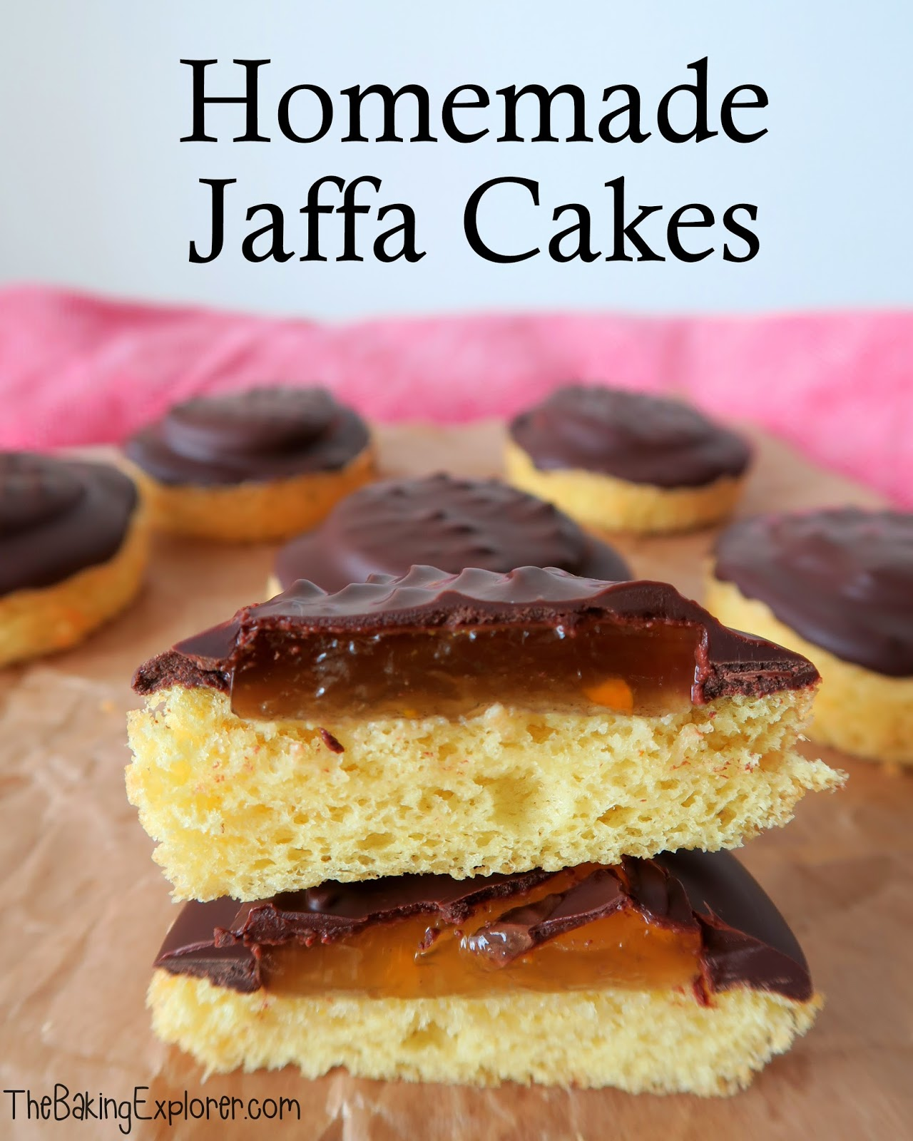 Jaffa cake cookies recipe