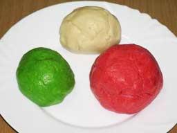 печенье из цветного теста рецепт