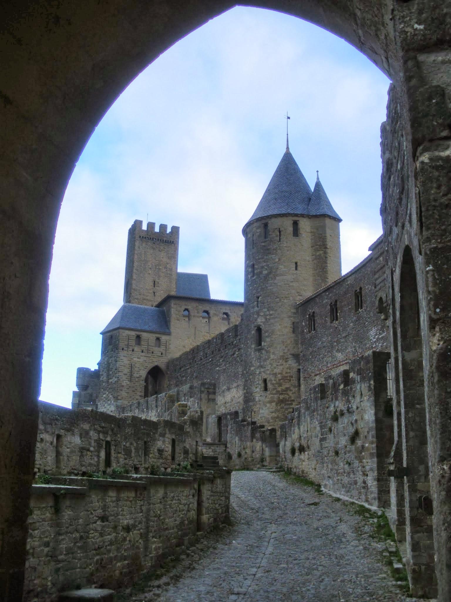 Cite Carcassona Carcassonne Aude Pays Cathare