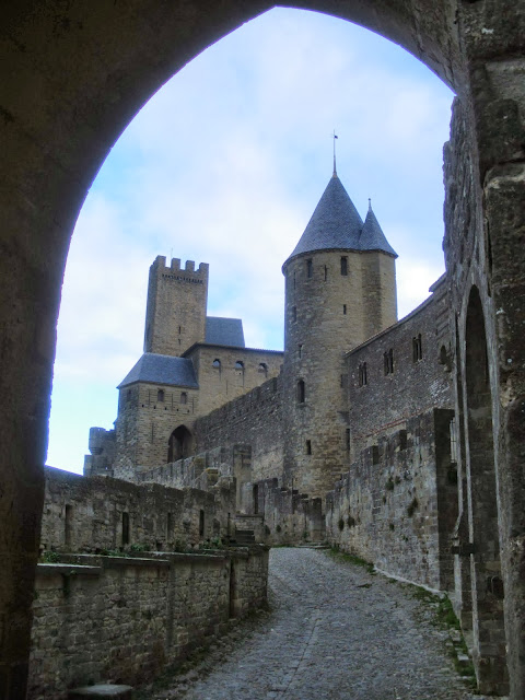 Cite Carcassona Carcassonne Aude Pays Cathare