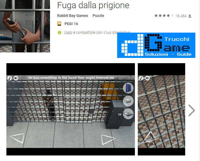 Soluzioni Fuga dalla prigione ( Escape Prison) livello 31 32 33 34 35 36 37 38 39 40 | Trucchi e  Walkthrough level
