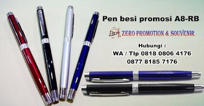 PEN METAL A8-RB, Pulpen Besi Grafir, souvenir Pen besi ukir, Pulpen besi exclusive, pulpen besi A8-RB dengan harga terjangkau.