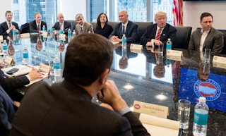 Tech Meeting with Trump