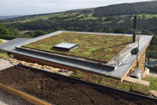 contoh desain atap minimalis