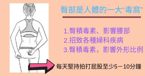 臀部拍打法教學(.臀積毒素)