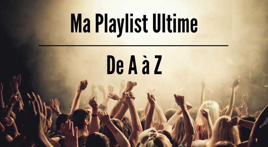 Playlist chansons préférées