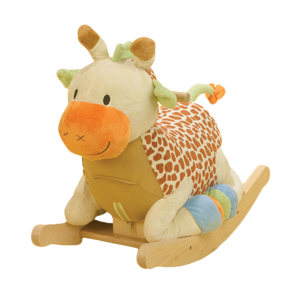 Giraffe Rocking Chair Tufted Office Nursery Inspiration The Momma Diaries