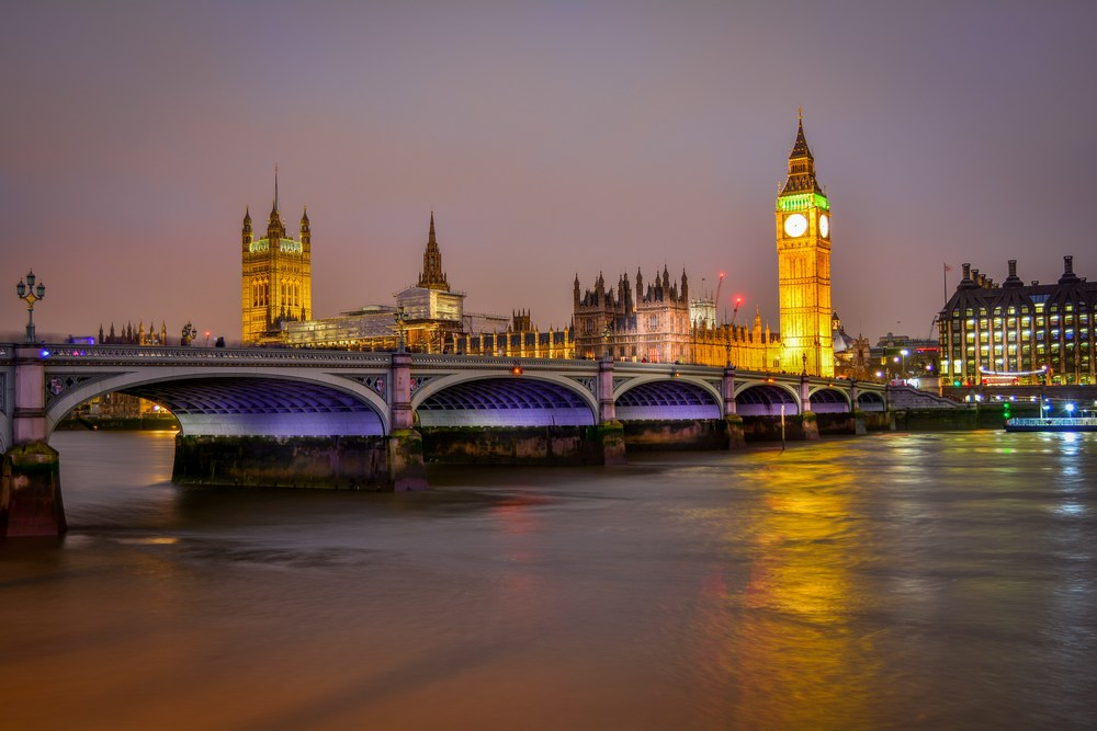 Big Ben depuis le pont de Westminster