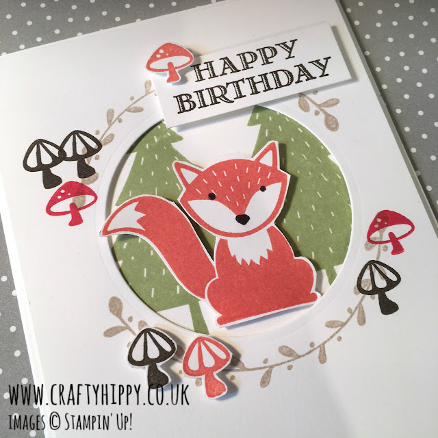 Foxy Friends Stamp Set, Stampin' Up!